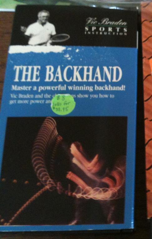 The Backhand - Master a powerful winning backhand!