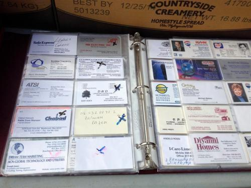business-card-collection