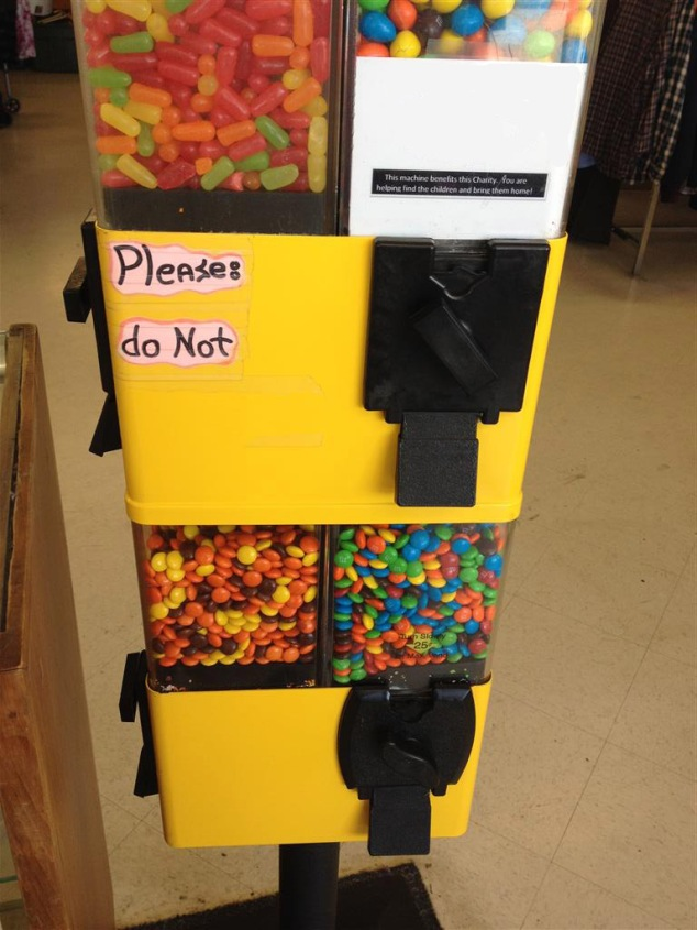 please-do-not-gumball-machine