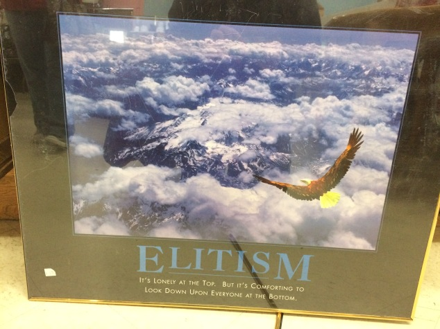 elitism-motivational-poster
