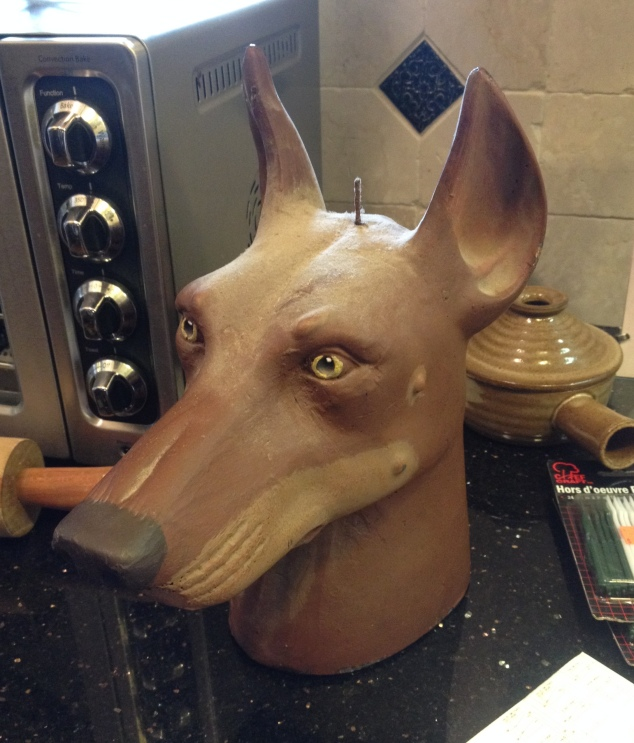 dog-head-candle