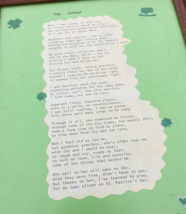 my-sister-poem