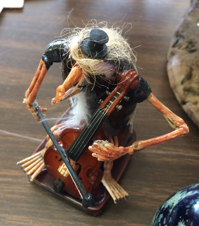crab-cellist
