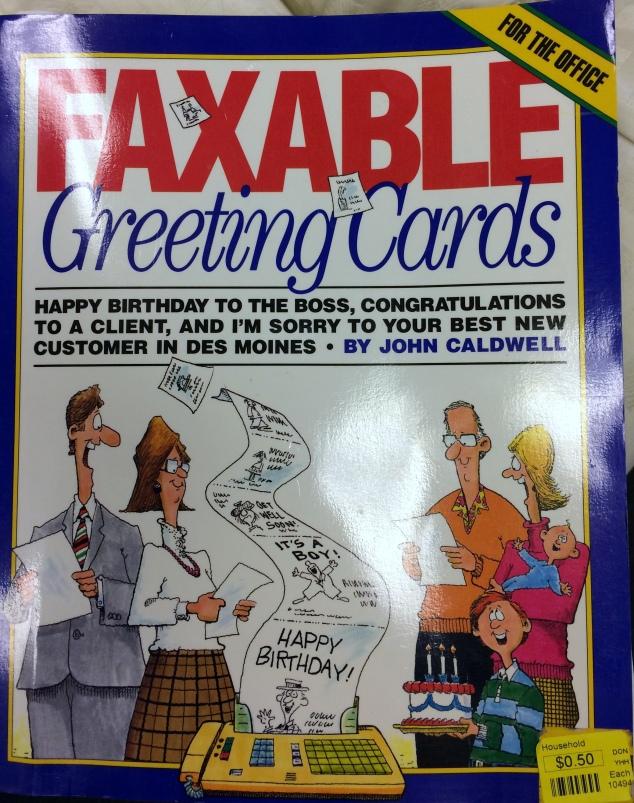 Yardsaling to Adventure – Racist Birthday Cards